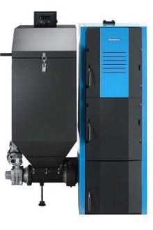 Автоматический твердотопливный котел Buderus Logano G221-A (Левый)